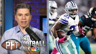 Is Cowboys' Ezekiel Elliott saving holdout for training camp? | Pro Football Talk | NBC Sports