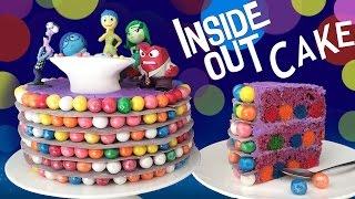 INSIDE OUT CAKE How To Cook That Ann Reardon Disney Pixar Movie Cake
