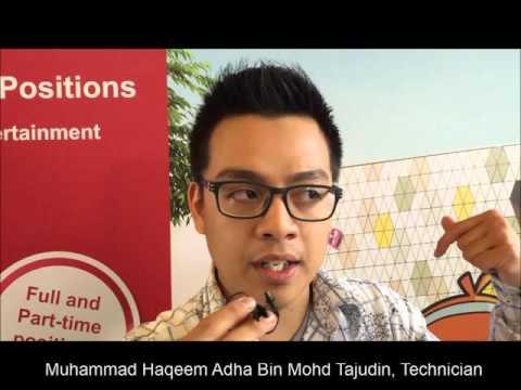 e2i Job Fair for KidZania Singapore