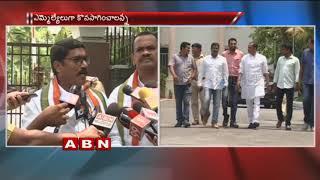 Congress MLAs Komatireddy Venkata Reddy ,Sampath Kumar meets DGP seeks security cover