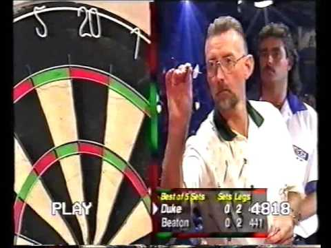 Darts World Championship 1999 Round 1 Beaton vs Duke