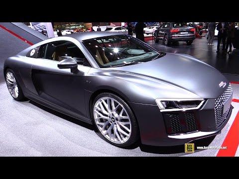 2016 Audi R8 V10 - Exterior And Interior Walkaround - 2015 Geneva Motor Show