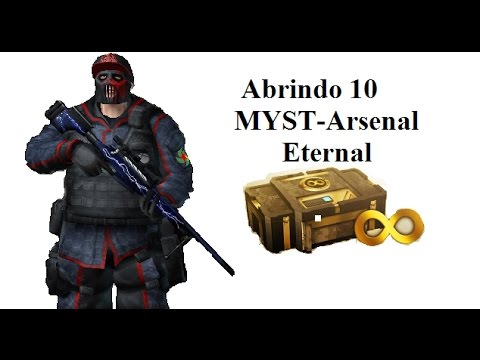 ABRINDO 10 MYST-Arsenal Eternal - COMBAT ARMS #1