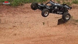 Vaterra Glamis Fear 4 seat sand rails dunes buggy 1/8 scale Offroad Track bash!