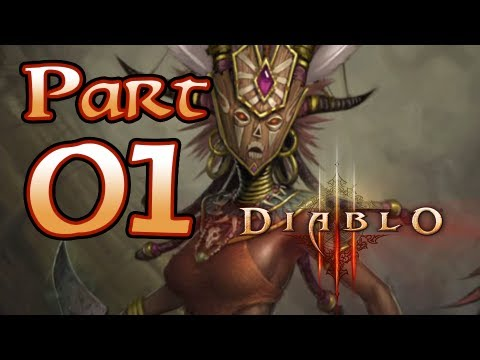 Diablo 3 III Gameplay – Witch Doctor Class