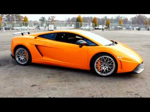 Lamborghini LP 570 SuperLeggera sound &amp; burnout