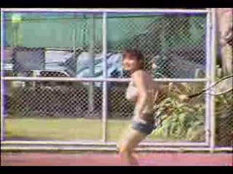 Miri Hanai tennis instructor.^_^ Video