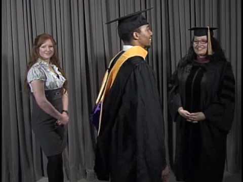 Graduation Hooding Ceremony Graduate Doctoral Hooding
