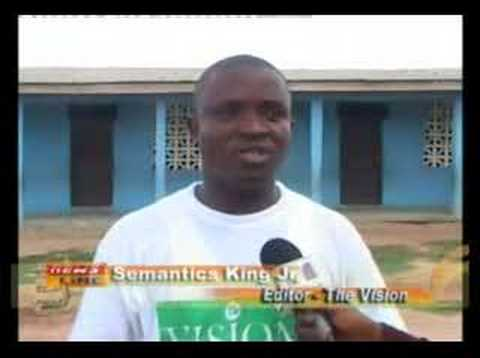 Buduburam Camp - Metro TV News, Accra Ghana
