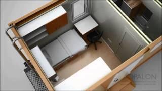 [OPALON préfabriqués Rig Drilling Camp mobile soudé Container...] Video