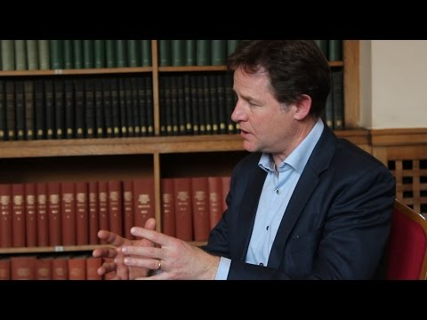 Nick Clegg on the EU and the future of the Lib Dems