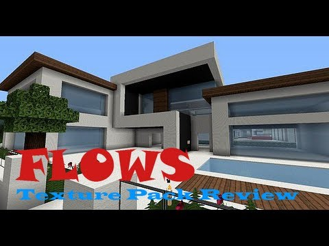 Minecraft 1.6.2: Flows HD (128x128 Resource Pack Review)