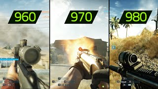 BATTLEFIELD HARDLINE GTX 960 vs GTX 970 vs GTX 980 (Maxed out)