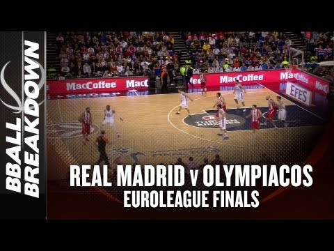 Real Madrid vs Olympiacos: 2013 Euroleague Finals