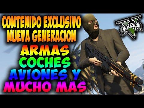 GTA V Online - Exclusivo!! Nuevos Coches, Armas, Aviones y Mucho Más!! - Nueva Generación GTA 5