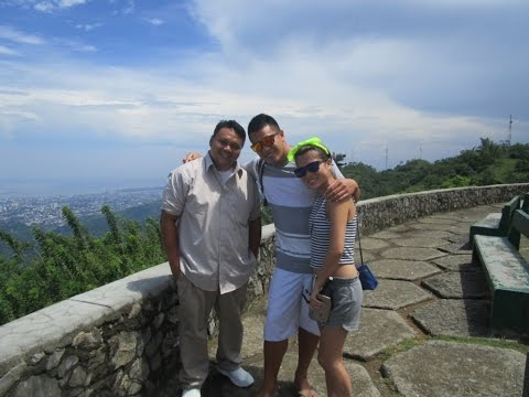 """Cebu City, A view from the """"Tops"""".  ~ Philippines tourism ~ My Motorcycle Adventures, Video 2 of 2"""
