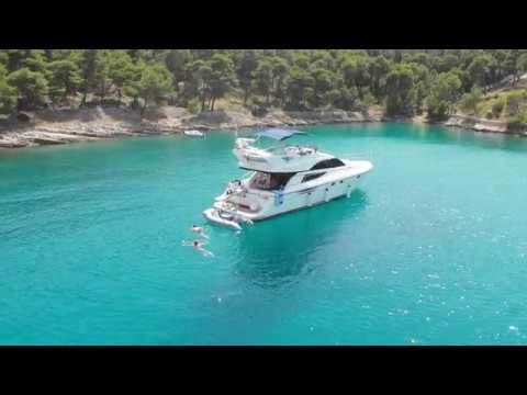 Holiday in Croatia at a Fairline Phantom 50 FT