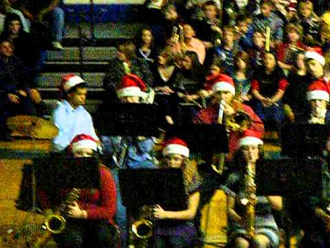 West Rusk High School Jazz Band Baby Its Cold Outside.AVI