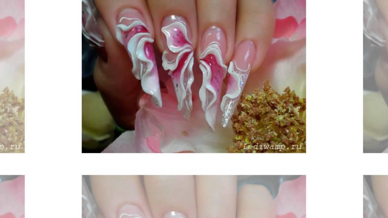 Аквариумные ногти как сделать