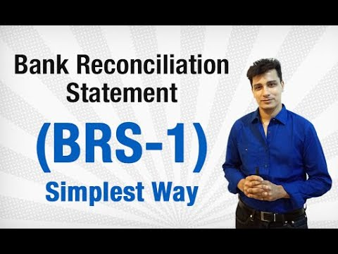 Bank Reconciliation Statement (BRS) || Most Easy Way to Solve || CBSE 11 Accounts
