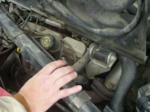 99 Pontiac Grand Prix GT Radiator Replacement - YouTube