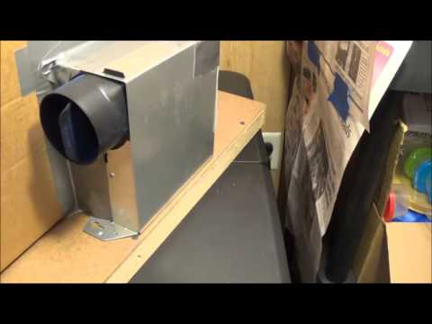 Homemade Airbrush Spray Booth