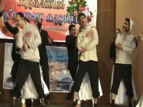palavattam dance by newcastle knanaya team