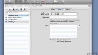 Sample of Mac OS X Server 10.6