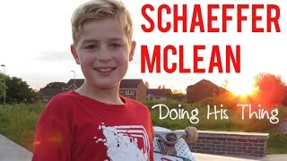 Skateboarder - Schaeffer McLean - Doing His Thing