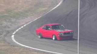 Rotary REUnion 2017 - Mazda RX3 drifting