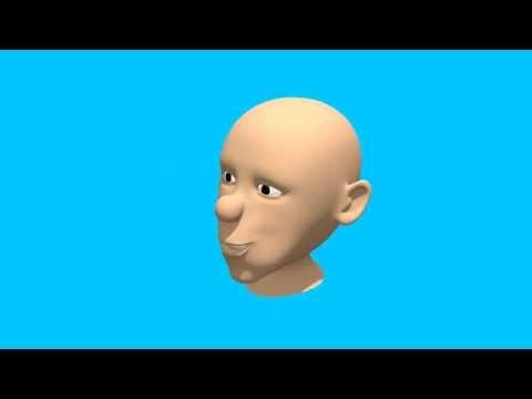 Prueba de animación de un rostro.