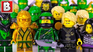Every LEGO Lloyd Minifigure EVER MADE!!!   2018 NINJAGO Collection Update