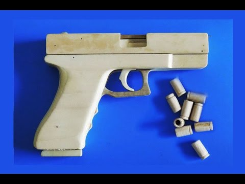 Shell Ejection Rubber Band Gun - Mechanism of shell ejection