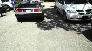 Delorean with rare black stripe package