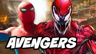 Spider-Man Homecoming Carnage and Infinity War Crossover Explained