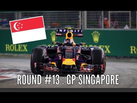 """F1 2015 Stagione del Campionato - Kvyat - Round 13 - SINGAPORE - """"La notte porta consiglio"""""""
