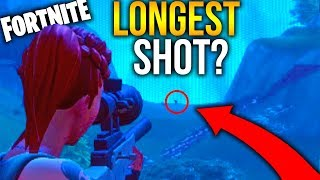 LONGEST SNIPER SHOT? Fortnite Battle Royale