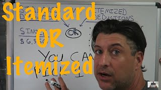 Standard Deduction OR Itemized Deduction / Income Tax Tips #7 / CPA Strength loves doing tax Returns