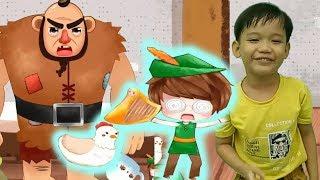 Bé kể chuyện cổ tích JACK VÀ CÂY ĐẬU THẦN hoạt hình vui nhộn Kênh trẻ em - video cho bé yêu