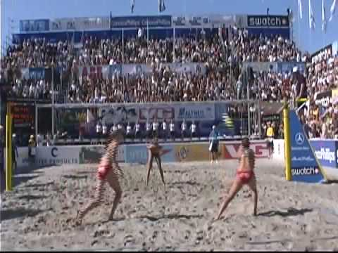 Stavanger, Norway is such a cool place for beach volleyball.