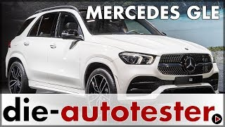2019 Mercedes GLE - Weltpremiere des Mercedes GLE 450 4Matic in Paris | Review | Sitzprobe | Deutsch
