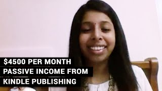 [K Money Mastery] $4,500 Per Month Passive Income From Kindle Publishing