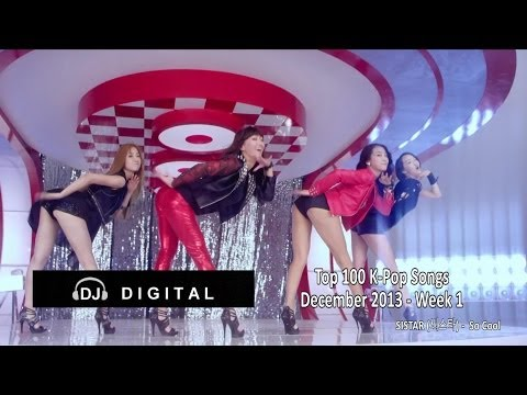Top 100 K-Pop Songs - December 2013 Week 1