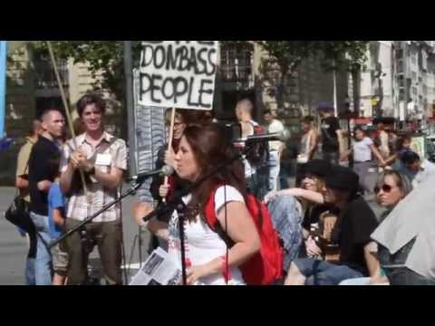 Manifestation contre la guerre en Ukraine, Paris 02.08.2014