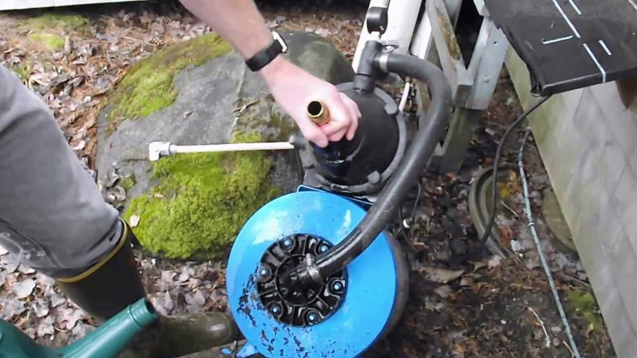 Diy How To Prime Your Water Pump Youtube