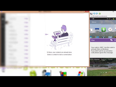 Viber: SMS, Chat, LLamadas y Video llamadas Gratis desde tu PC con Windows o Mac
