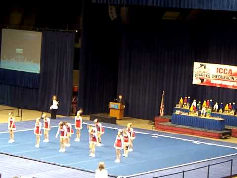 Pleasant Plains High School ICCA State Cheerleading Competition Feb 11, 2012