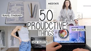 50 PRODUCTIVE THINGS TO DO AT HOME DURING LOCKDOWN | HOLLY EDITION INSPIRED BY RUBY GRANGER