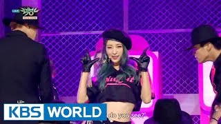 EXID HOT PINK Music Bank HOT Stage 2015 12 11