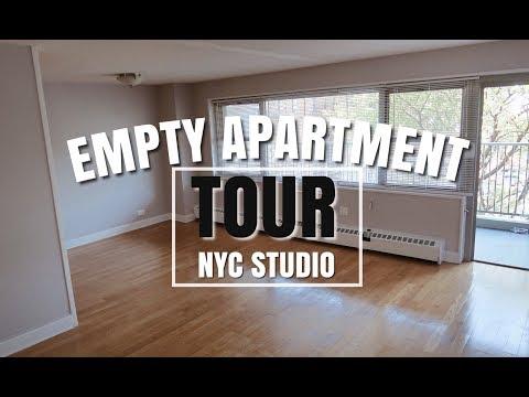 Empty Apartment Tour | NYC STUDIO + Apartment Shopping